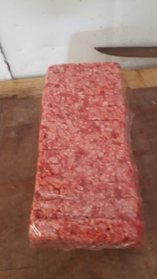 Half Hairy Beast Block Steak Lorne Sausage